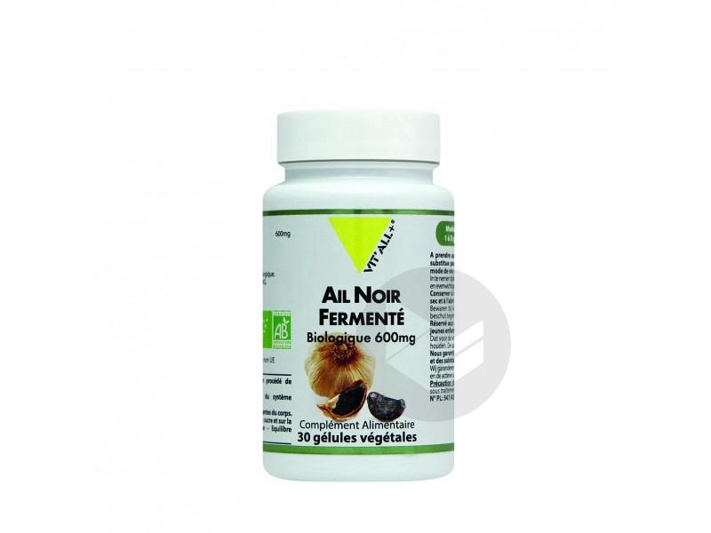 Ail Noir Fermenté Bio 600mg - 30 gélules