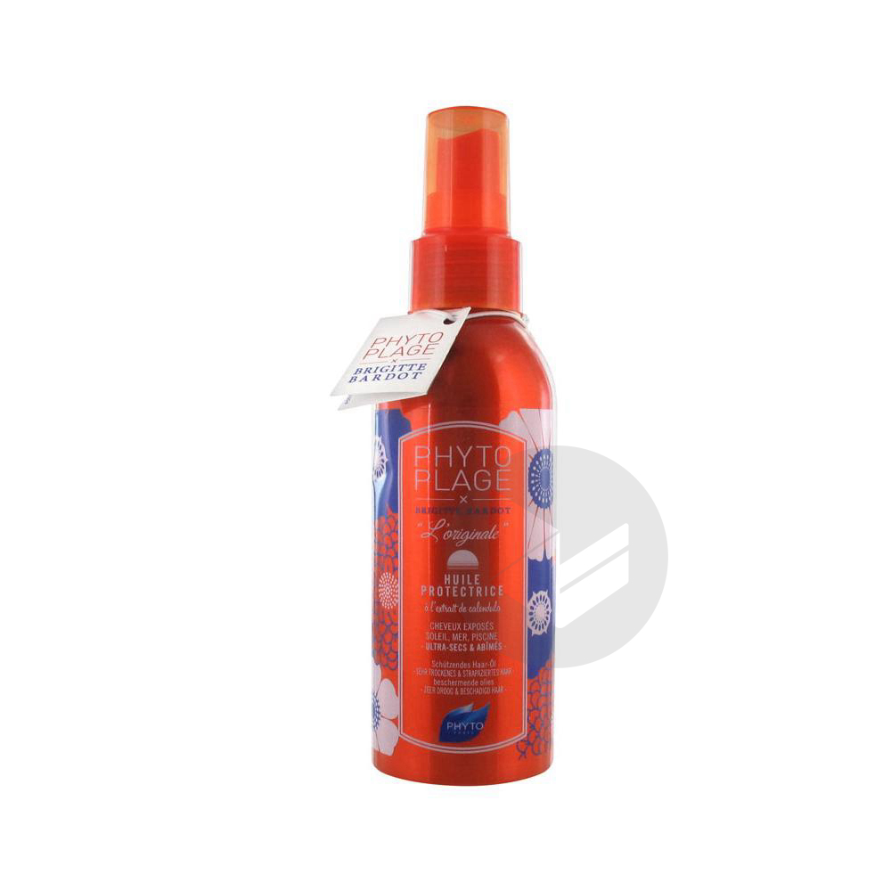 Plage Huile Capillaire Protectrice Spray 100 Ml