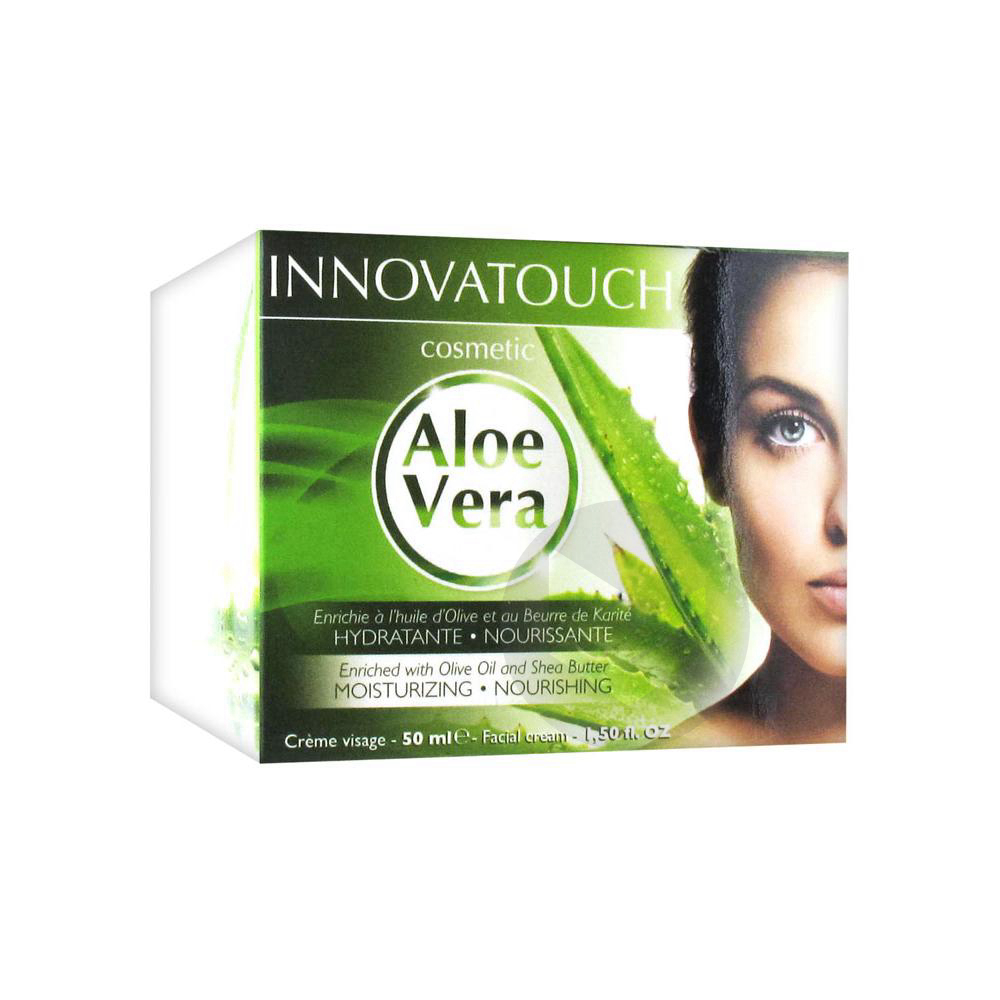 Creme Visage Aloe Vera 50 Ml