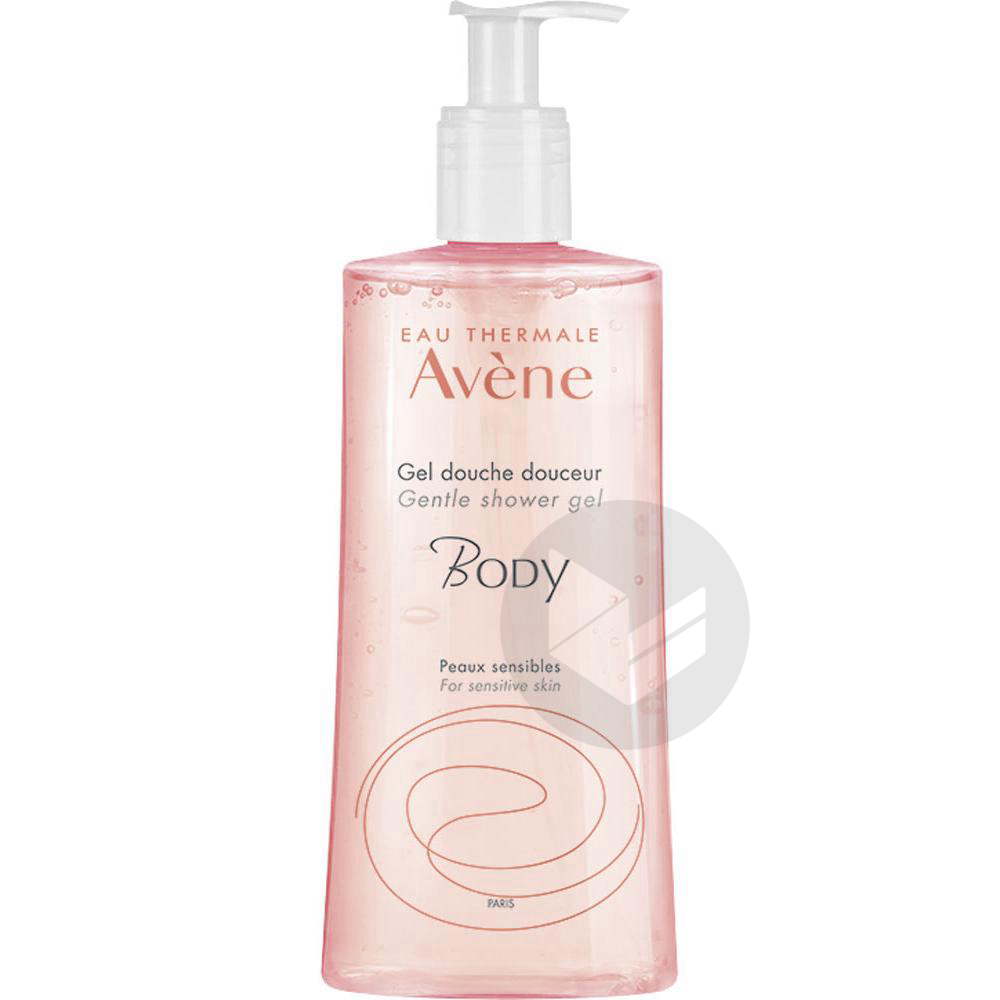 Avene Body Gel Douche Douceur Fl Pompe 500 Ml