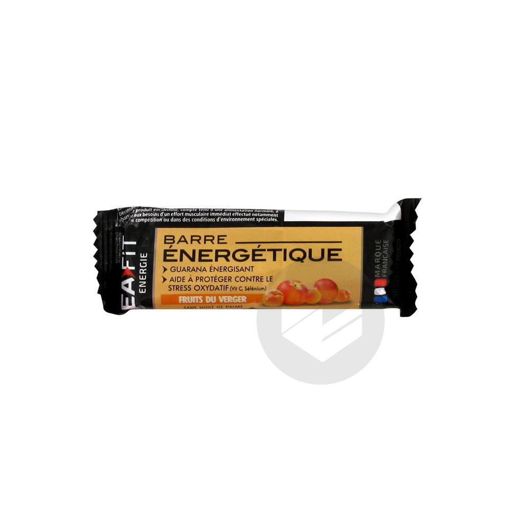 Energie Barre Energetique Fruits Du Verger 30 G