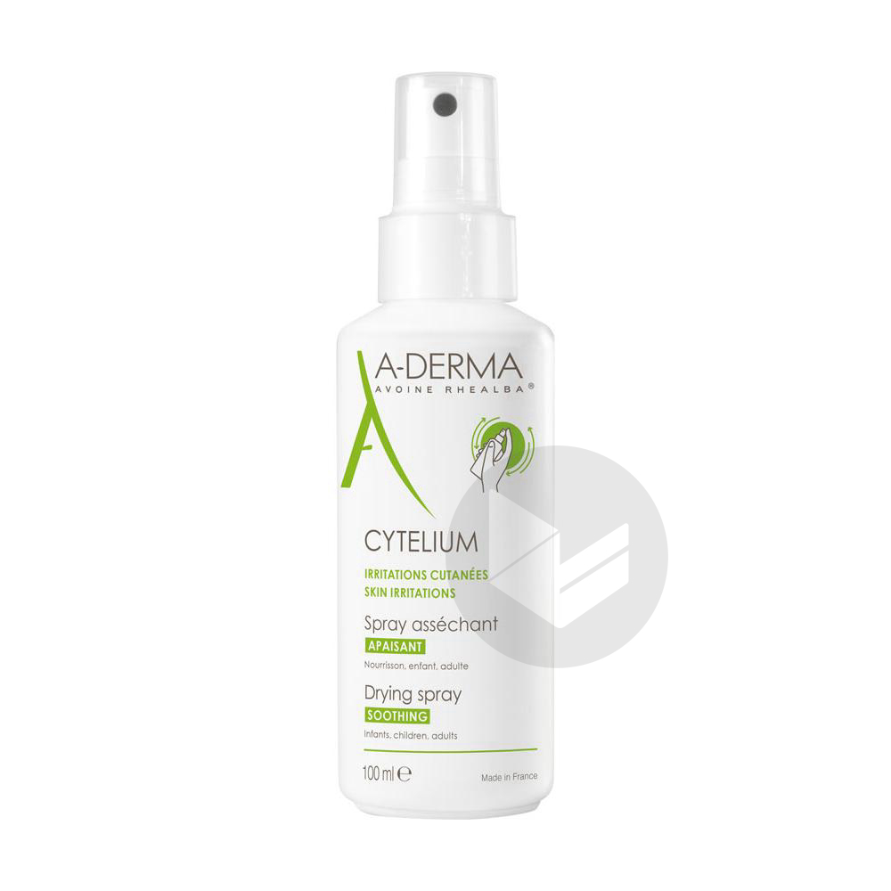 Cytelium Spray Lot Dermatologique Peau Irritee Reactive Spray 100 Ml