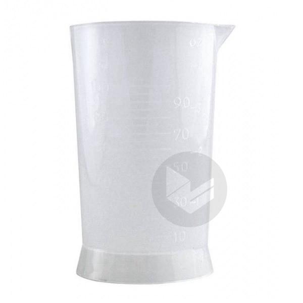 Bécher gradué plastique - 100 ml