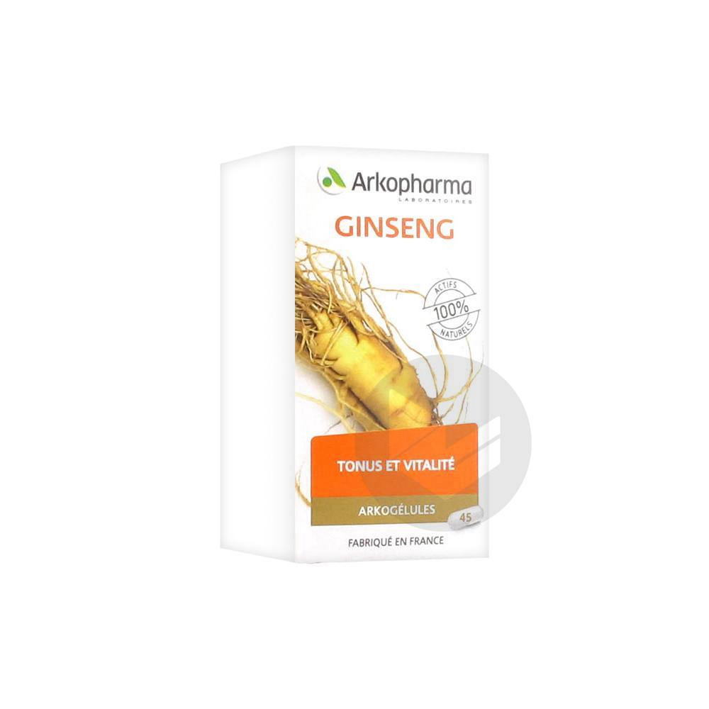Arkogelules Ginseng Gel Fl 45