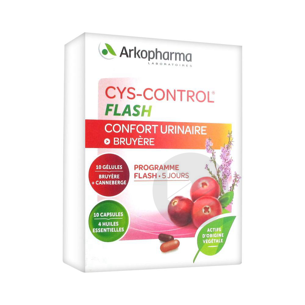 Cys Control Flash 36 Mg Gel B 20