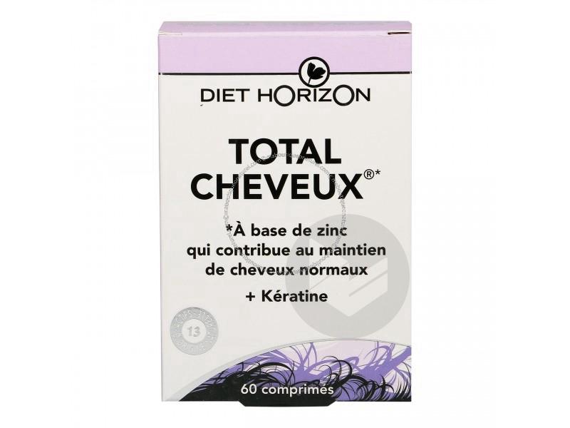 Total Cheveux 60 Comprimes