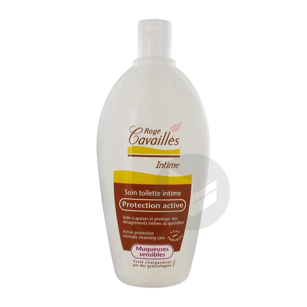 Roge Cavailles Intime Gel Protection Active Fl 500 Ml