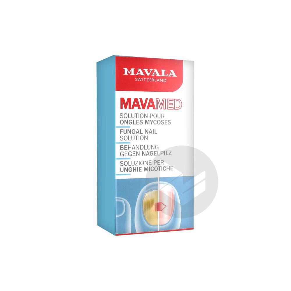 Mavamed Solution Pour Ongles Mycoses 5 Ml