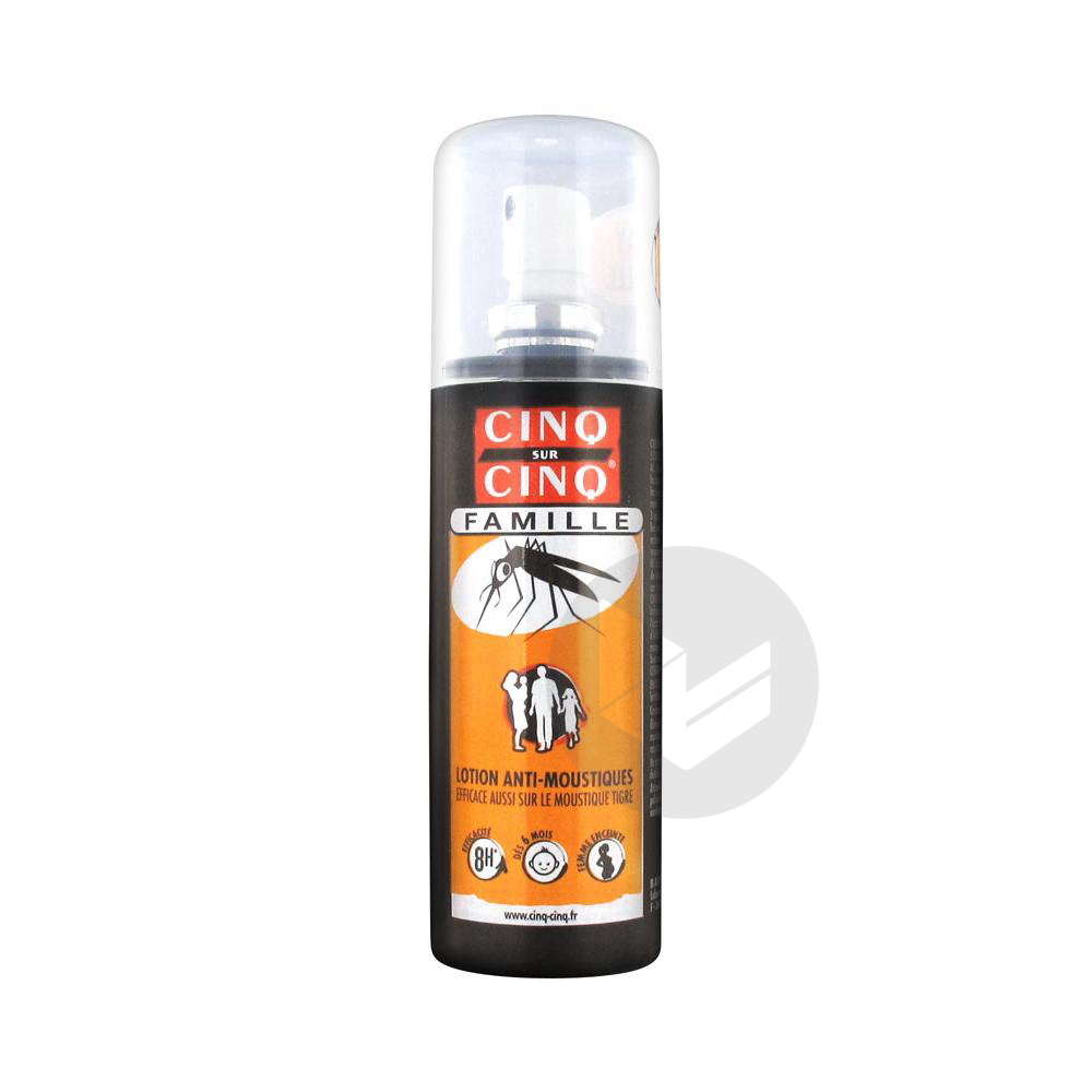 Lot Anti Moustique Spray 100 Ml