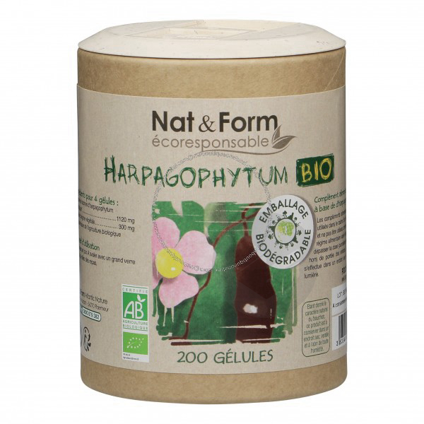 Harpagophytum Bio Eco Responsable 200 Gelules