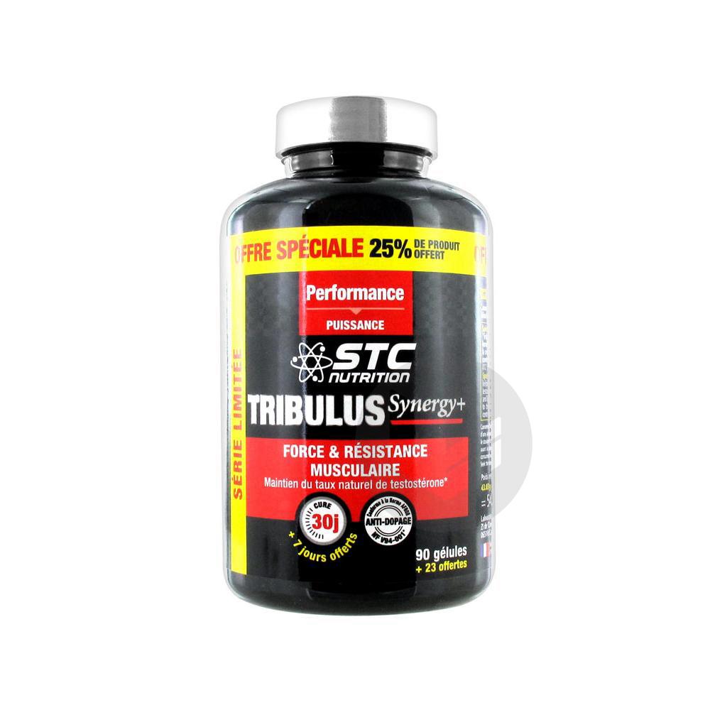 STC Nutrition Tribulus Synergy+ 113 Gélules dont 25% Offert