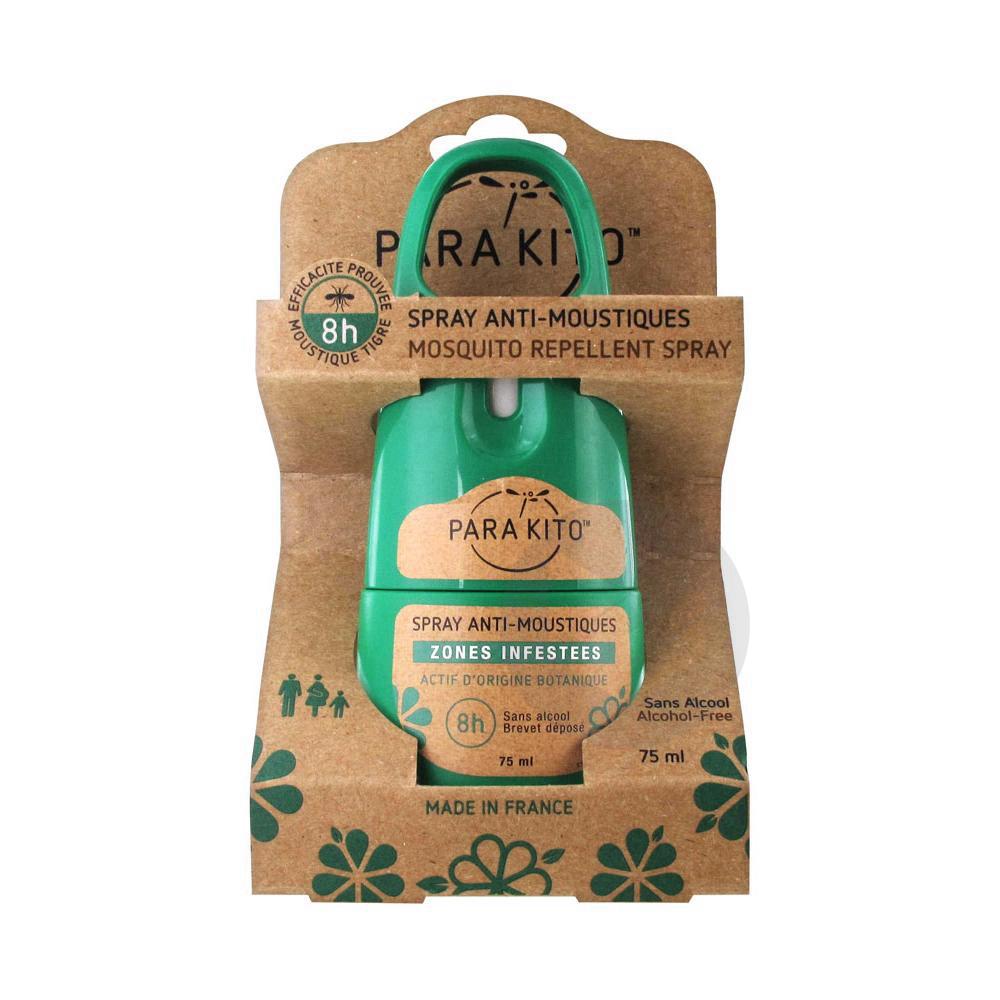 PARA'KITO Spray répulsif anti-moustique T/75ml