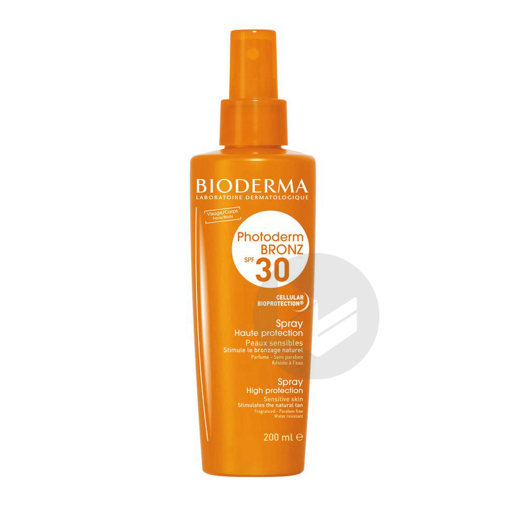 Photoderm Bronz Spf 30 Spray Fl 200 Ml