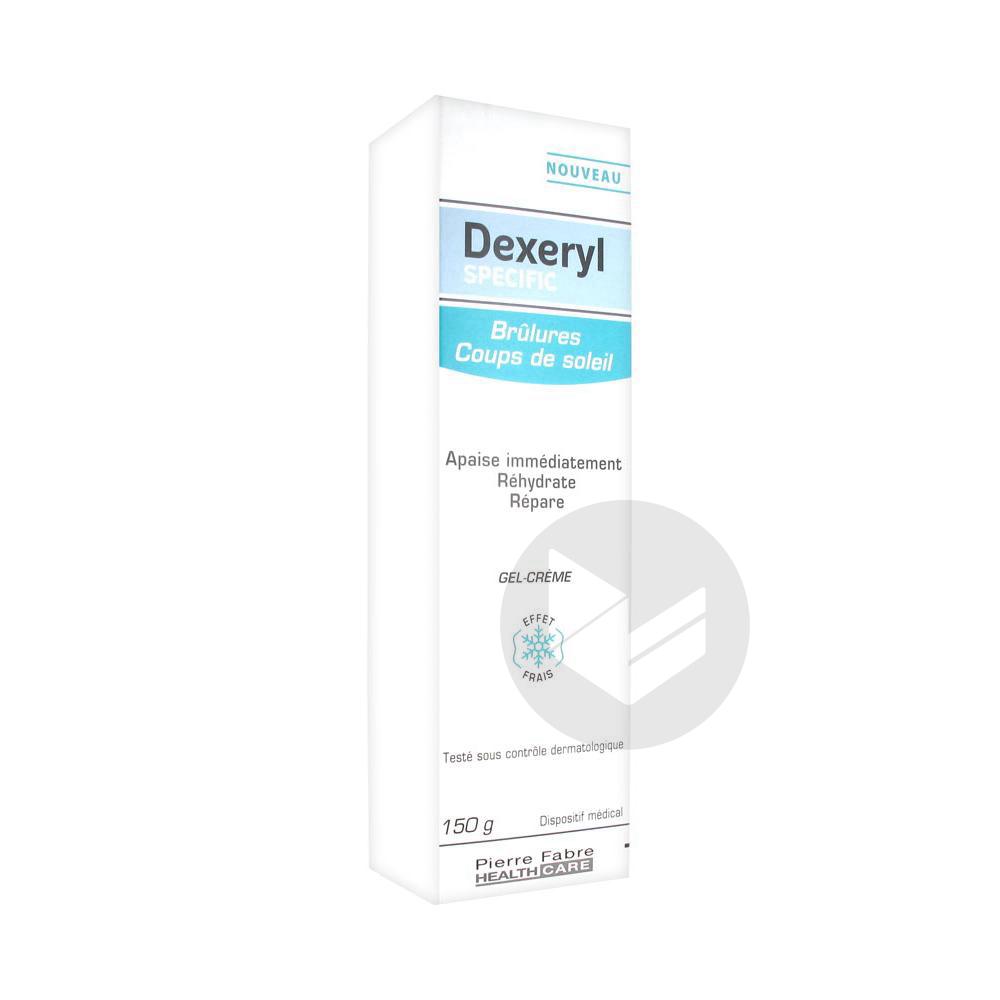Dexeryl Specific Brulures Coups De Soleil 150 G