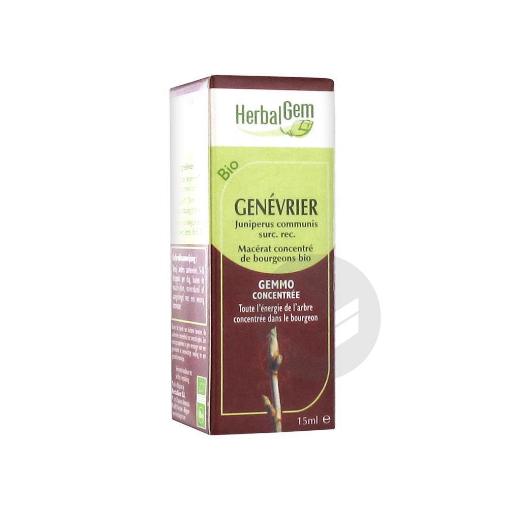 HerbalGem Bio Genévrier 15 ml
