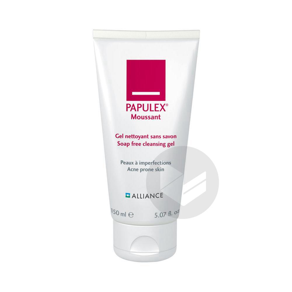 PAPULEX Gel moussant peau jeune et à problèmes T/150ml