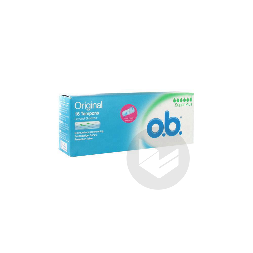 O B Original 16 Tampons Super Plus