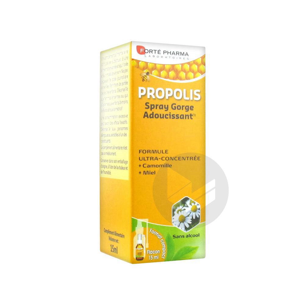 Forte Pharma Propolis Spray Adulte Fl 15 Ml