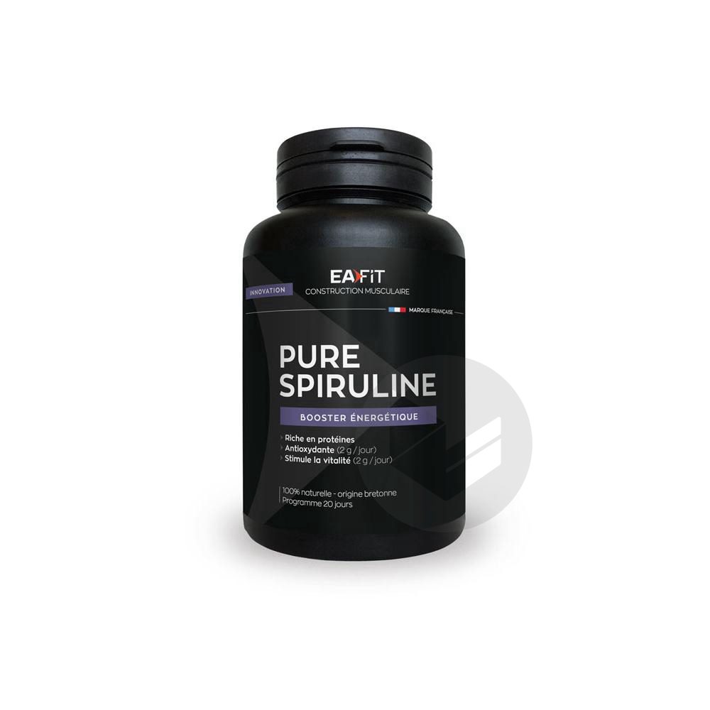Eafit Construction Musculaire Pure Spiruline 50 Comprimés