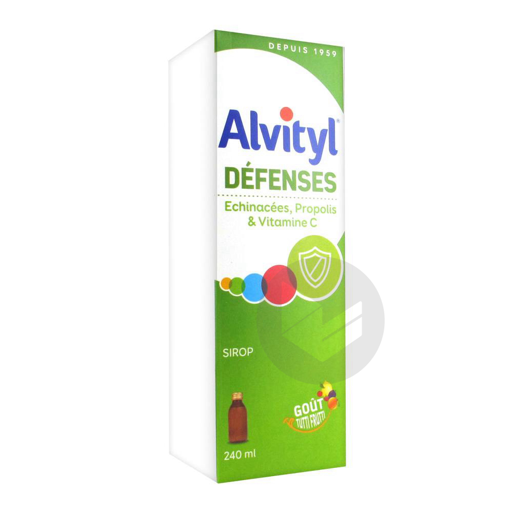 Defenses Sirop Tutti Frutti Fl 240 Ml