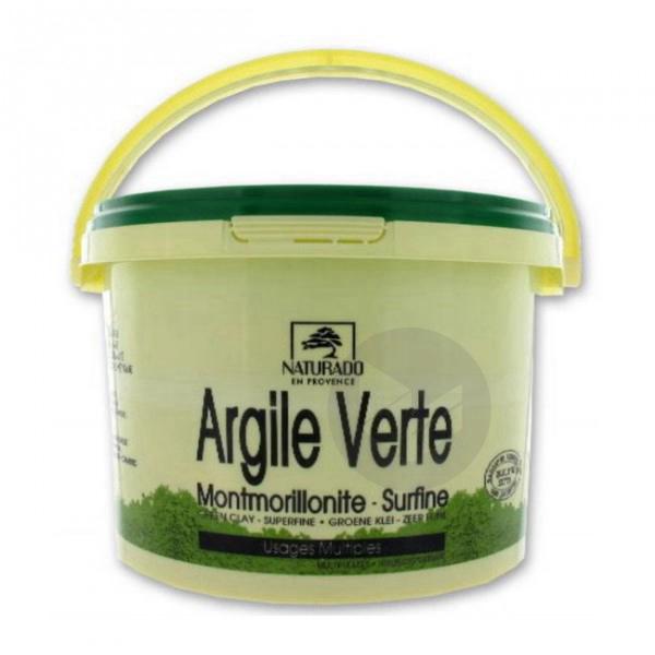 Argile verte montmorillonite seau - 2,5 kg