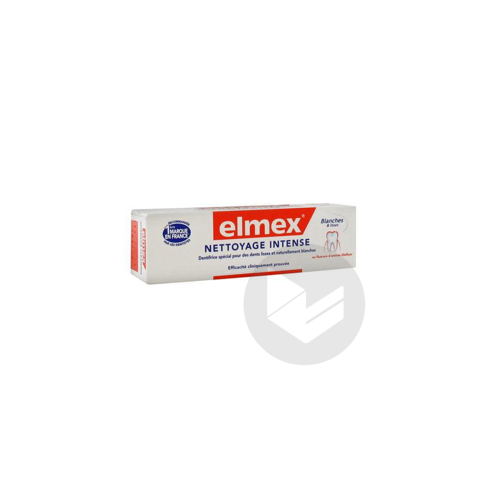 Elmex Nettoyage Intense Pate Dentifrice Anti Tache T 50 Ml