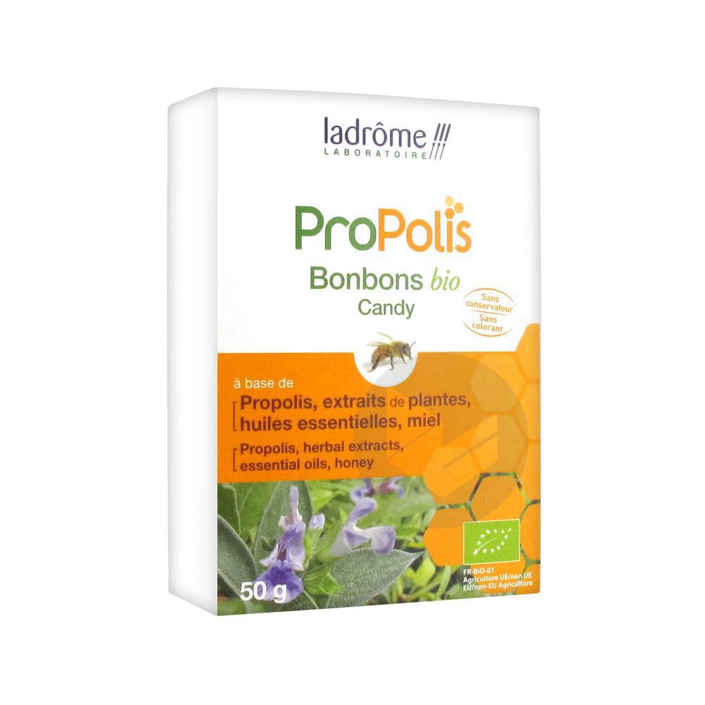 Ladrome Propolis Bonbons Bio 50 G
