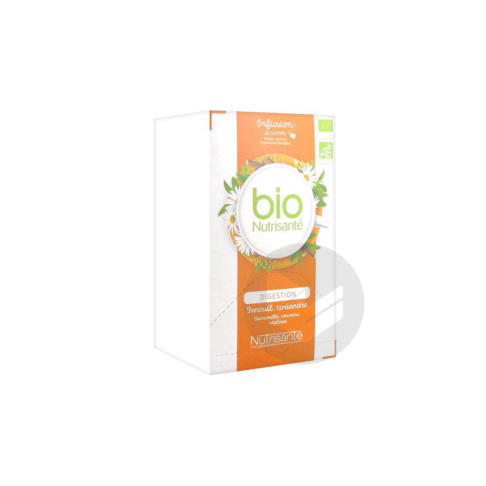 Nutrisante Infusions Bio Tis Digestion 20 Sach
