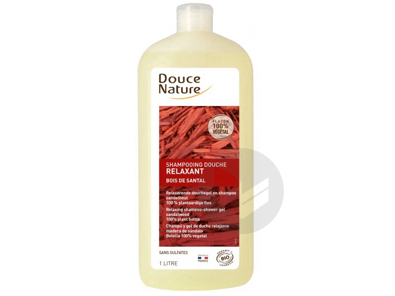 Shampooing Douche Relaxant Santal - 1 L