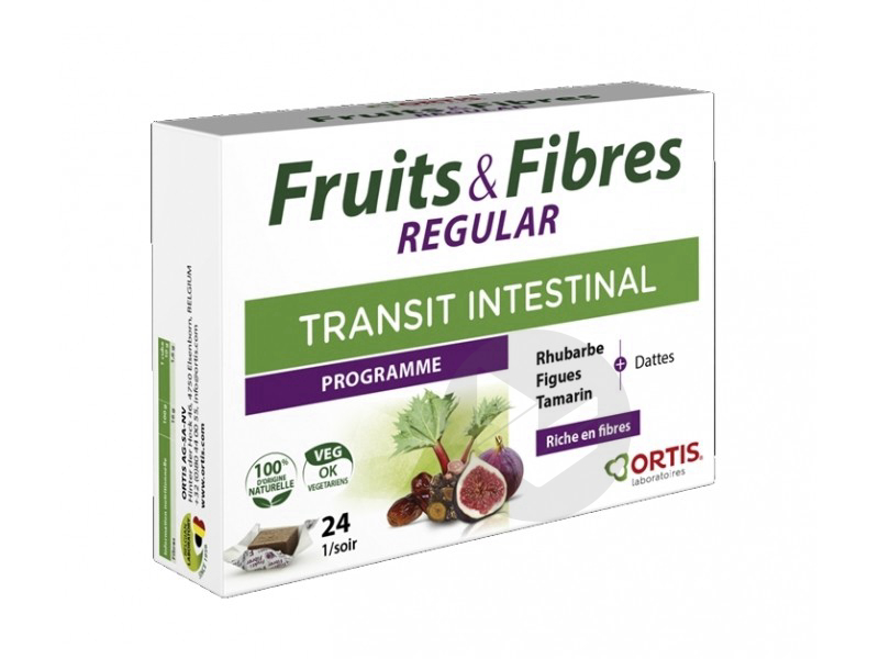 Fruits Fibres Regular 24 Cubes