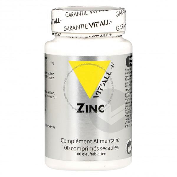 Zinc 30 Mg 100 Comprimes