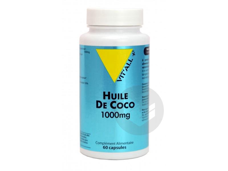Huile de coco 1000 mg - 60 gélules
