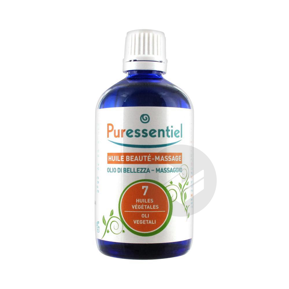 PURESSENTIEL EXPERT Huile neutre soin beauté massage 7 huiles végétales Fl/100ml