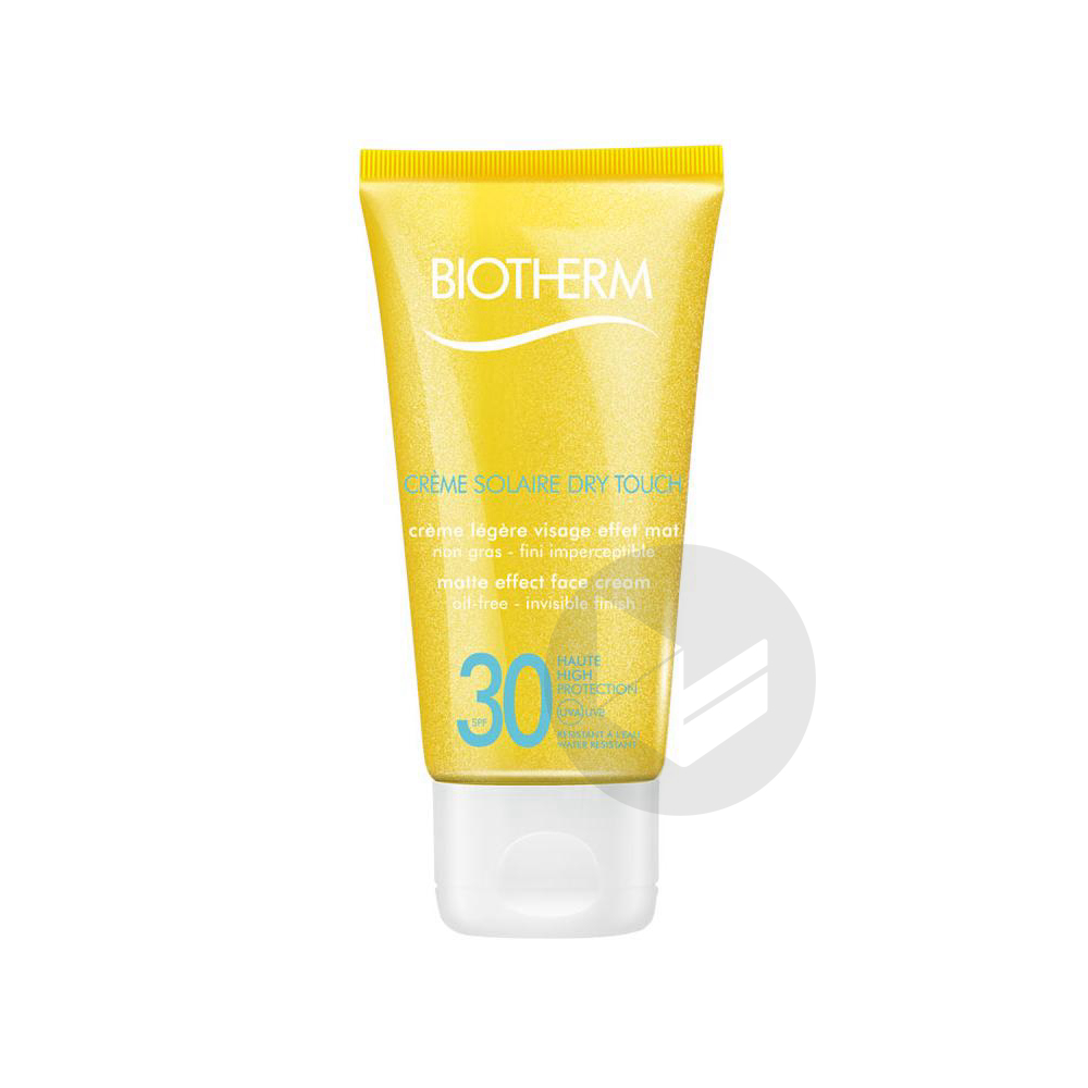 BIOTHERM SOLAIRE DRY TOUCH SPF30 Cr visage T/50ml
