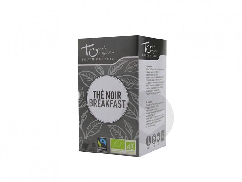 Thé noir breakfast Bio - 24 sachets