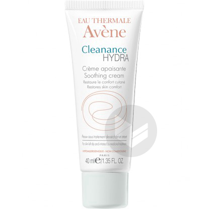 Cleanance Hydra Cr Apaisante T 40 Ml