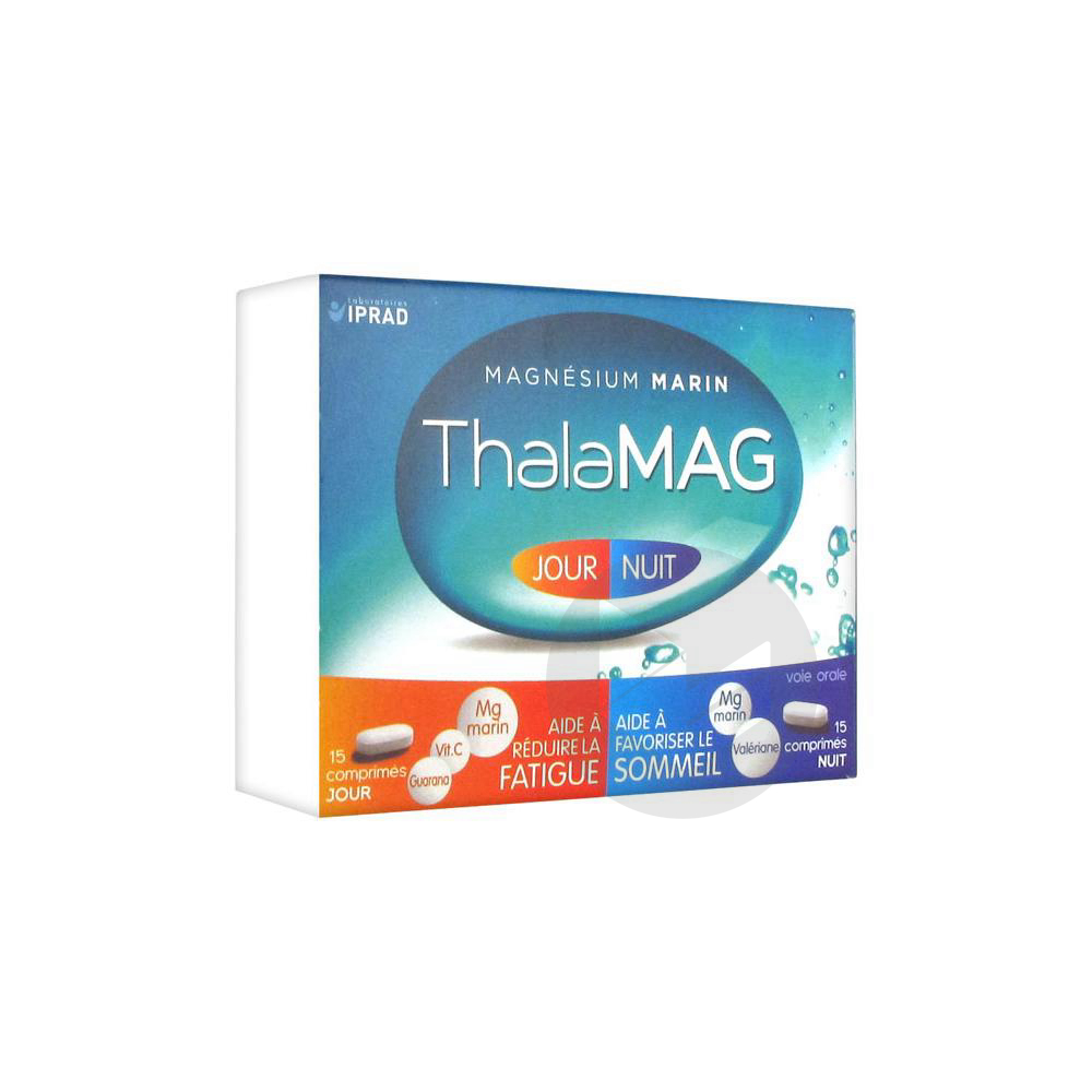 Thalamag Jour Nuit Magnesium Marin Cpr B 30