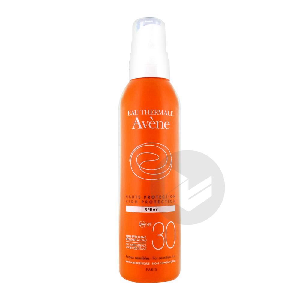 Avene Solaire Spf 30 Spray Haute Protection Fl 200 Ml