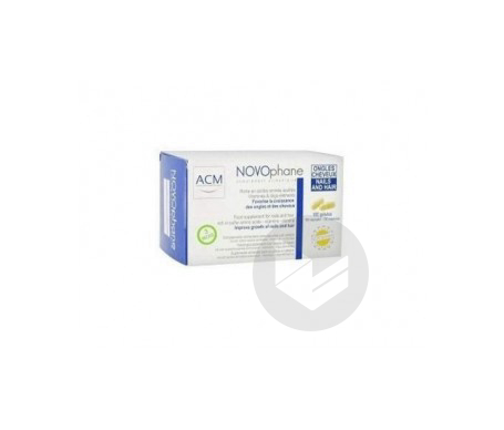 Novophane Ongles Et Cheveux 60 Gelules