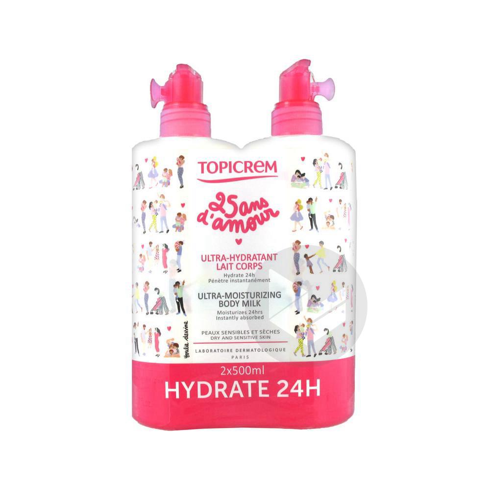 Les Essentiels Lait Ultra Hydratant Corps 2 Fl 500 Ml