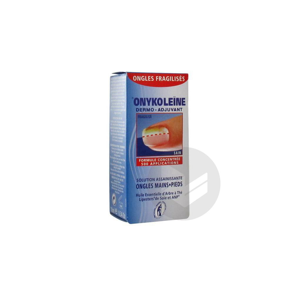 Onykoleine Solution Assainissante Ongles Mains Pieds 10 Ml