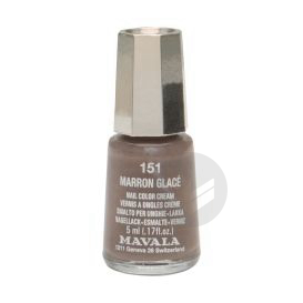 V Ongles Marron Glace Mini Fl 5 Ml