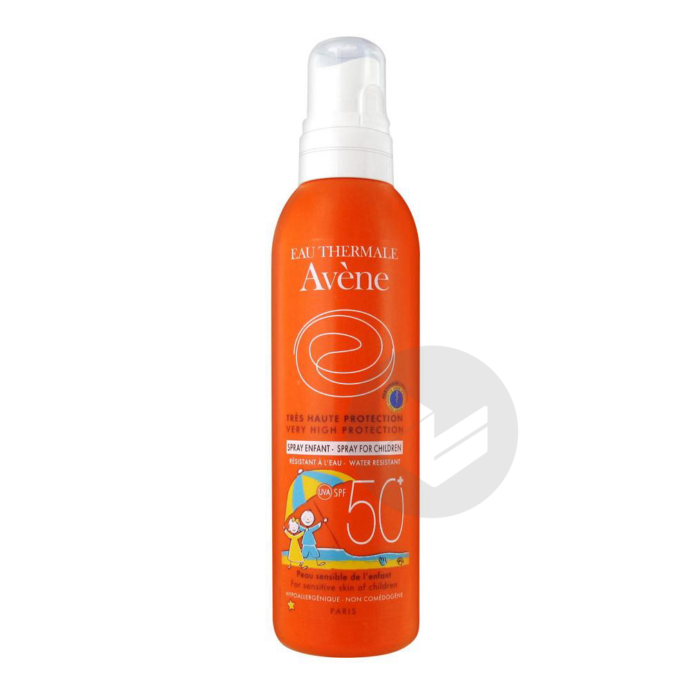 AVENE-SOL 50+ SPRAY ENFANT 200M