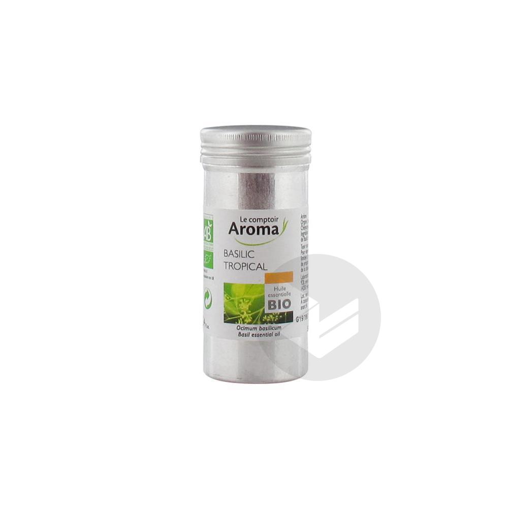 LE COMPTOIR AROMA Huile essentielle Basilic Tropical Bio Fl/10ml