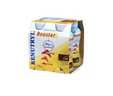 Renutryl Booster Cafe 4 Bouteilles De 300 Ml