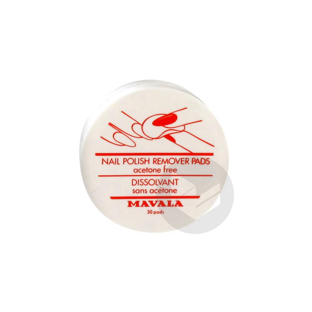 MAVALA MANUCURE Dissolvant disque B/30