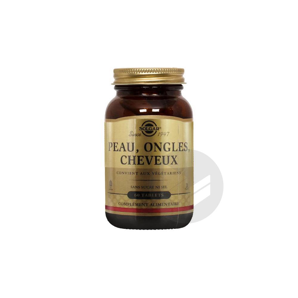 Tabl Cheveux Peau Ongles Pot 60