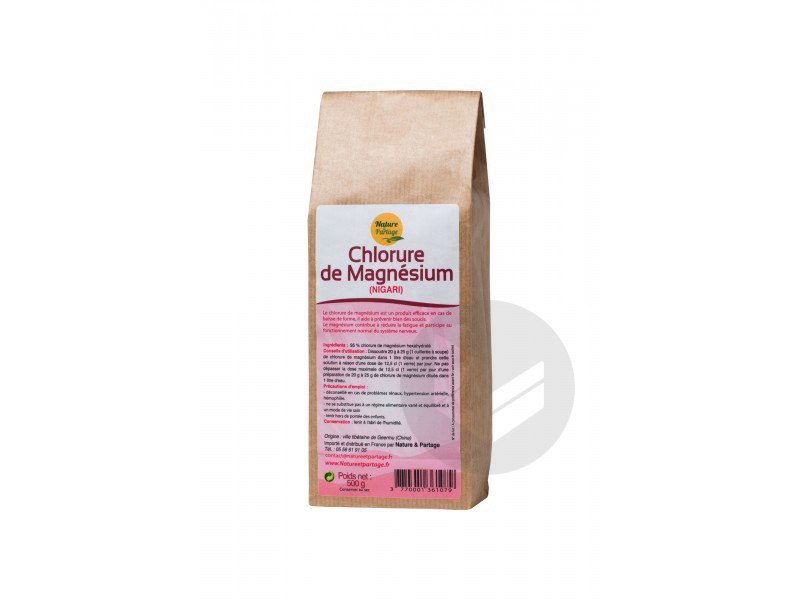 Chlorure de magnésium - 500 g
