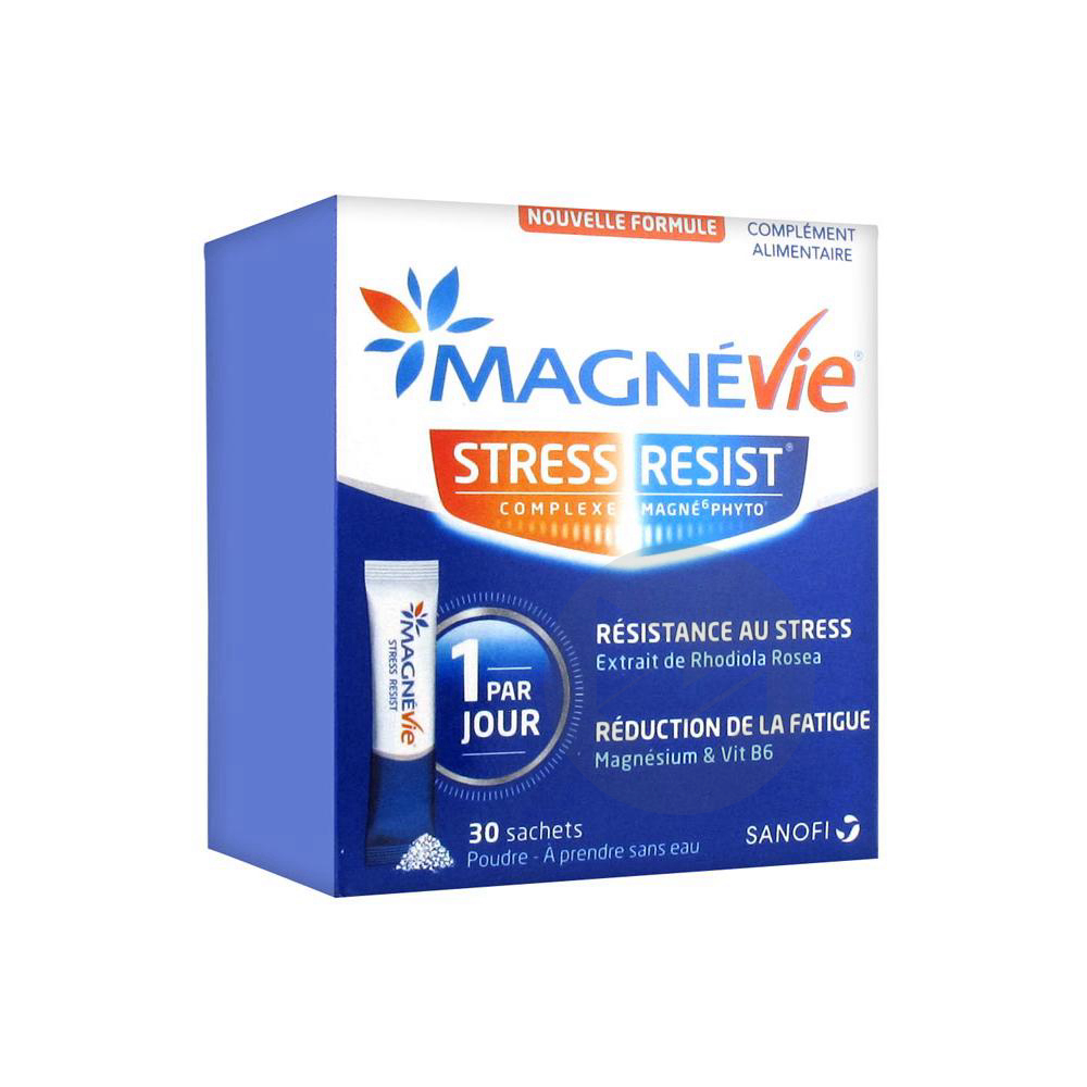 Magnevie Stress Resist Pdr Or 30 Sticks
