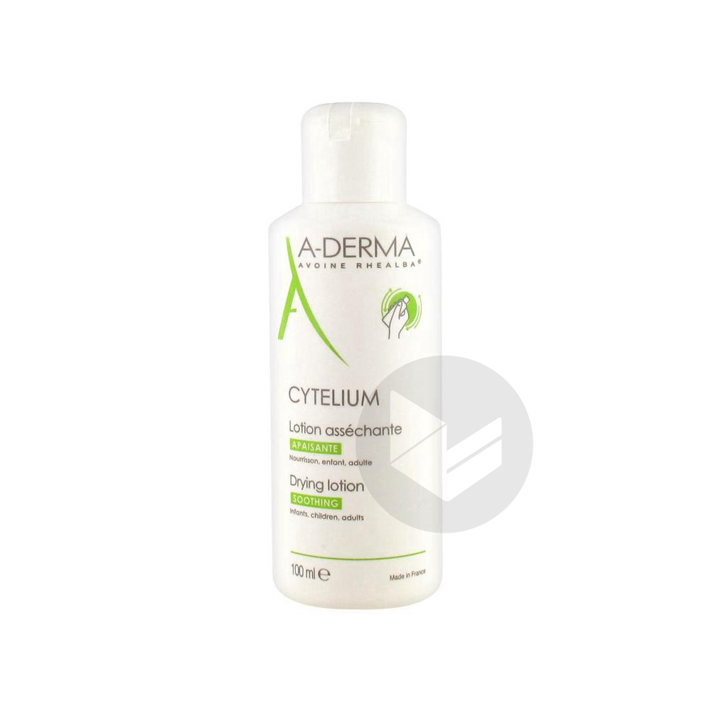 Cytelium Lot Dermatologique Peau Irritee Reactive Fl 100 Ml